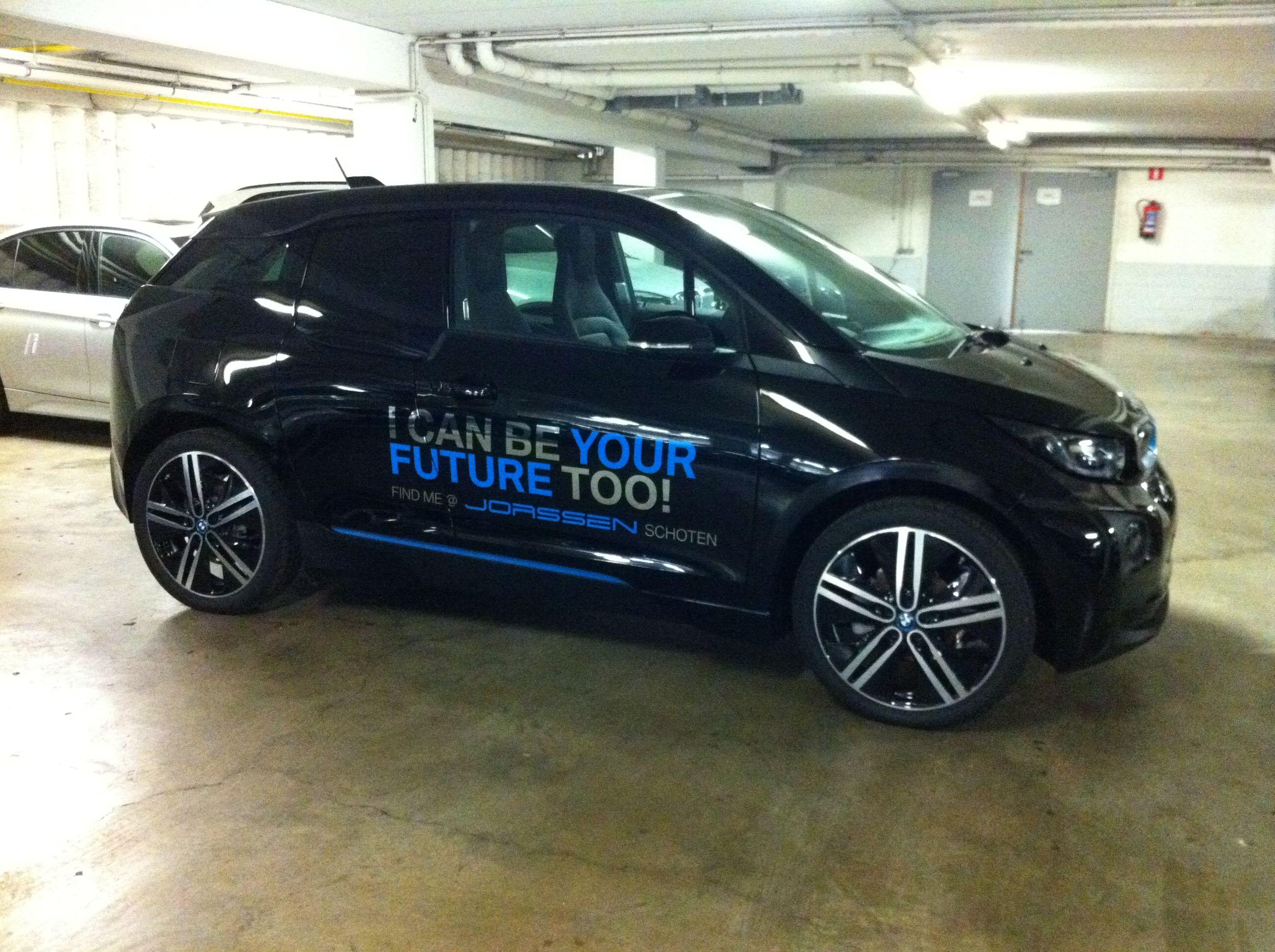 Commercial Vehicle Signage Car Signwriting Car Signage For BMW - Car signwriting