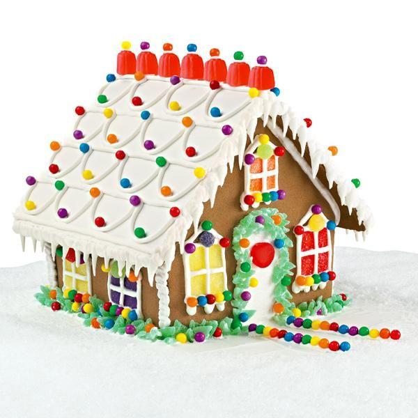 Gumdrop Getaway Gingerbread House Gumdrops Top The Roof