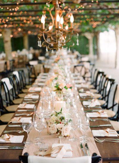 Décoration mariage : les tables banquet   Décoration mariage, Les ...