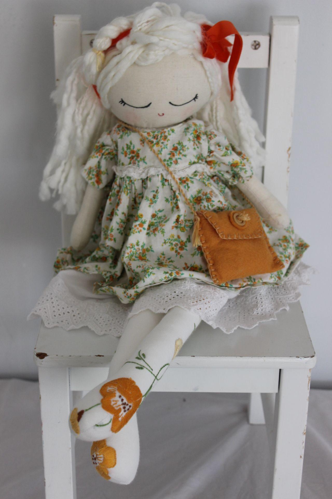Cloth Doll Plush : Veronique