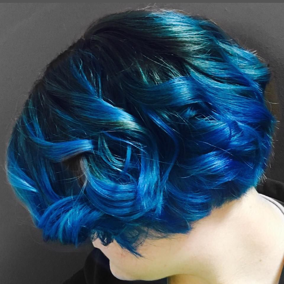 Ocean hair by Kenzie #blazecolorsalon #coralvilleblaze