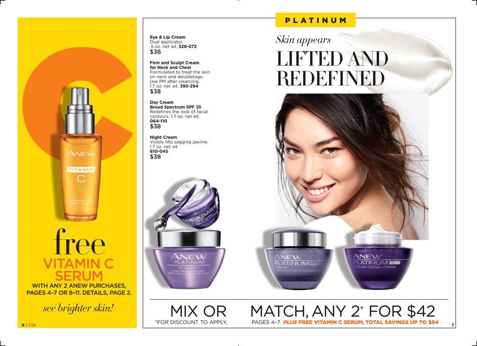 Ebrochure Avon Skin Cream Discount Makeup Skin Care Women