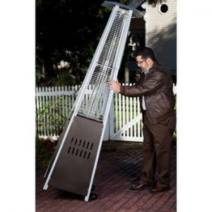Tilt Save Pyramid Patio Heater From Golden Flame