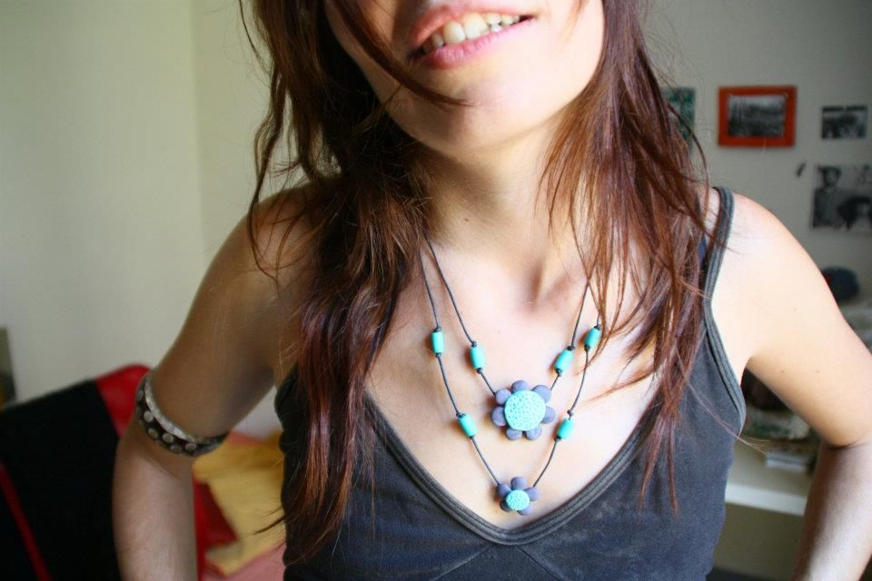 spring necklace!