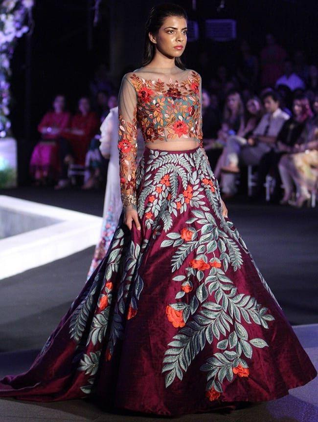 aca103396e 28 Best Manish Malhotra Lehenga Designs That Are Every Bride's Dream ...