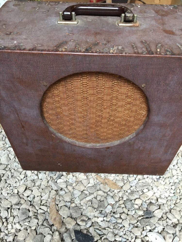 Vintage Tube Amplifier Guitar Amp-quam Speaker