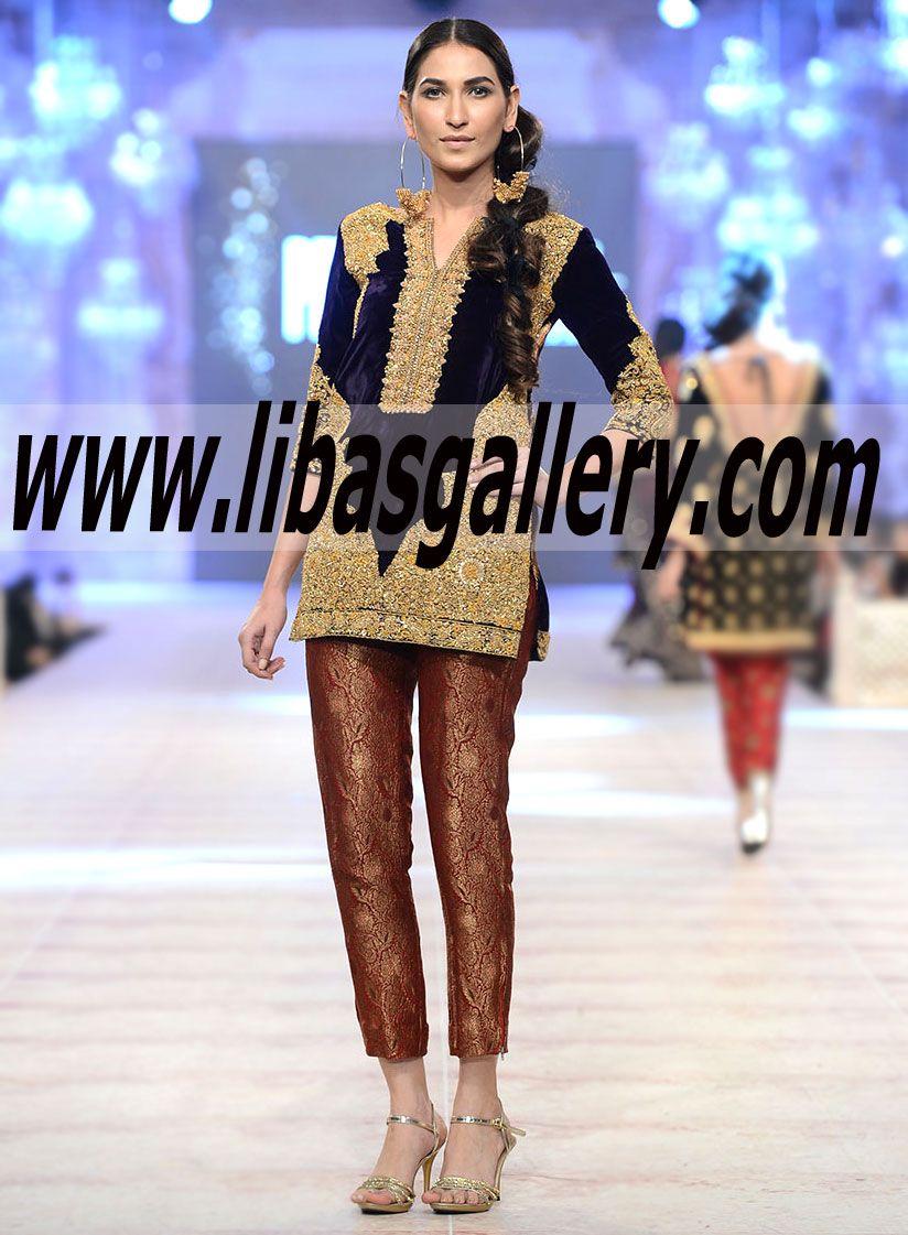 Shop The Latest Sana Safinaz Designre Collecton PFDC LOREAL Paris Bridal Week 2014 2015 In