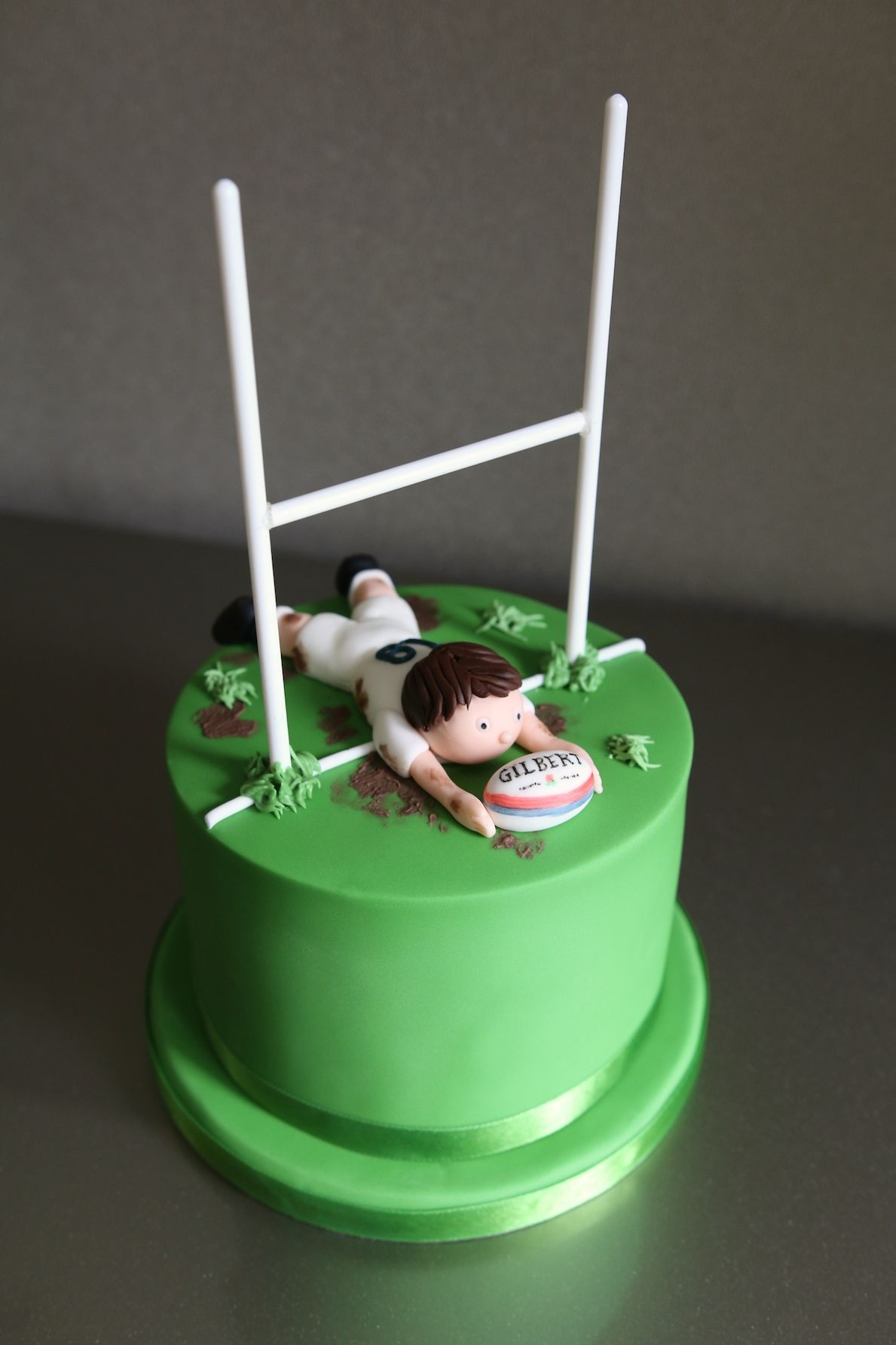 Rugby Birthday Cake | Dad birthday cakes, Rugby cake, 18th ...
