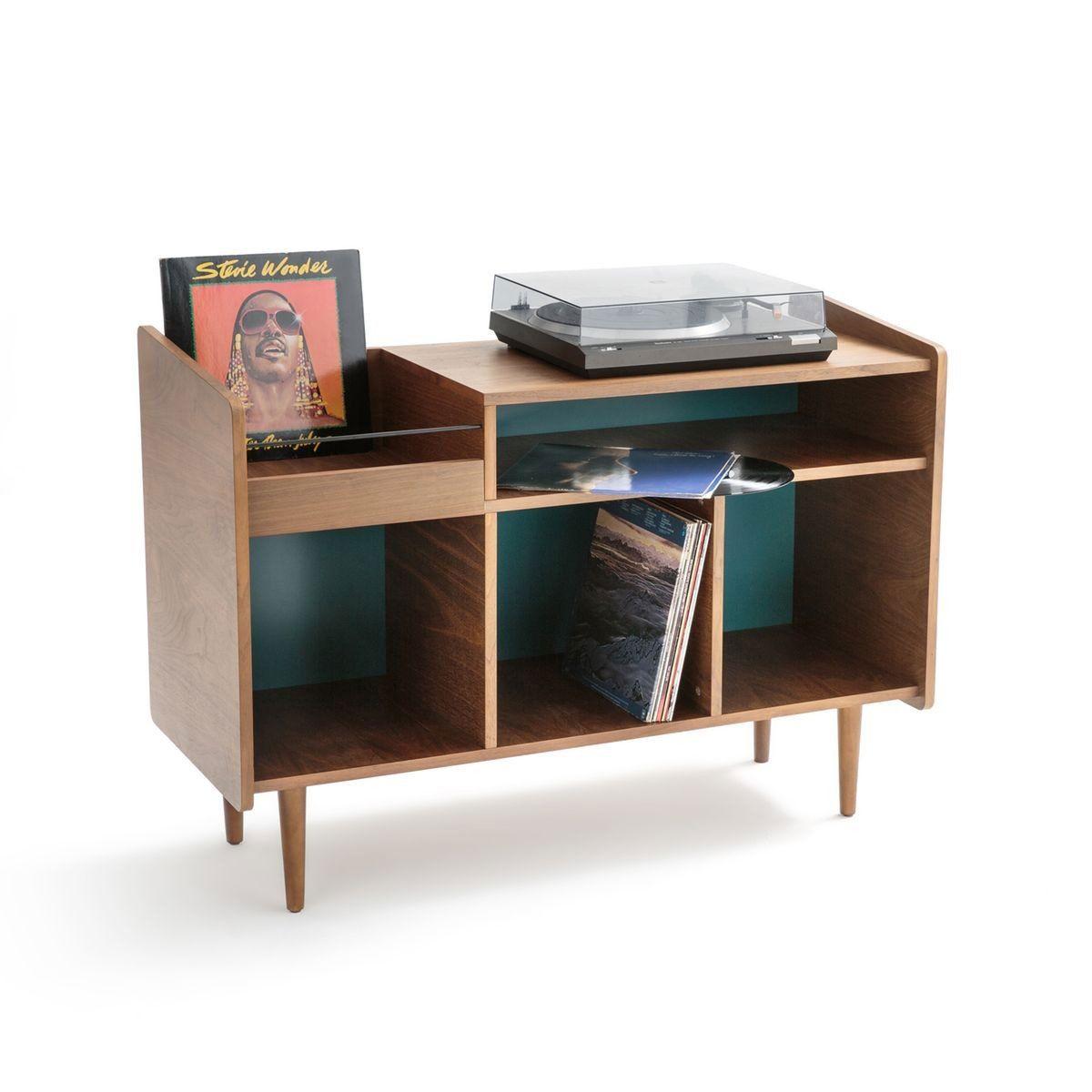 Meuble Vinyle Quel Modele Choisir Pour Un Interieur Au Look Vintage Meuble Vinyle Rangement Vinyle Meuble Vintage