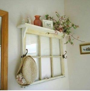 20 Astuces Ingénieuses Pour Réutiliser Un Vieux Cadre De Fenêtre