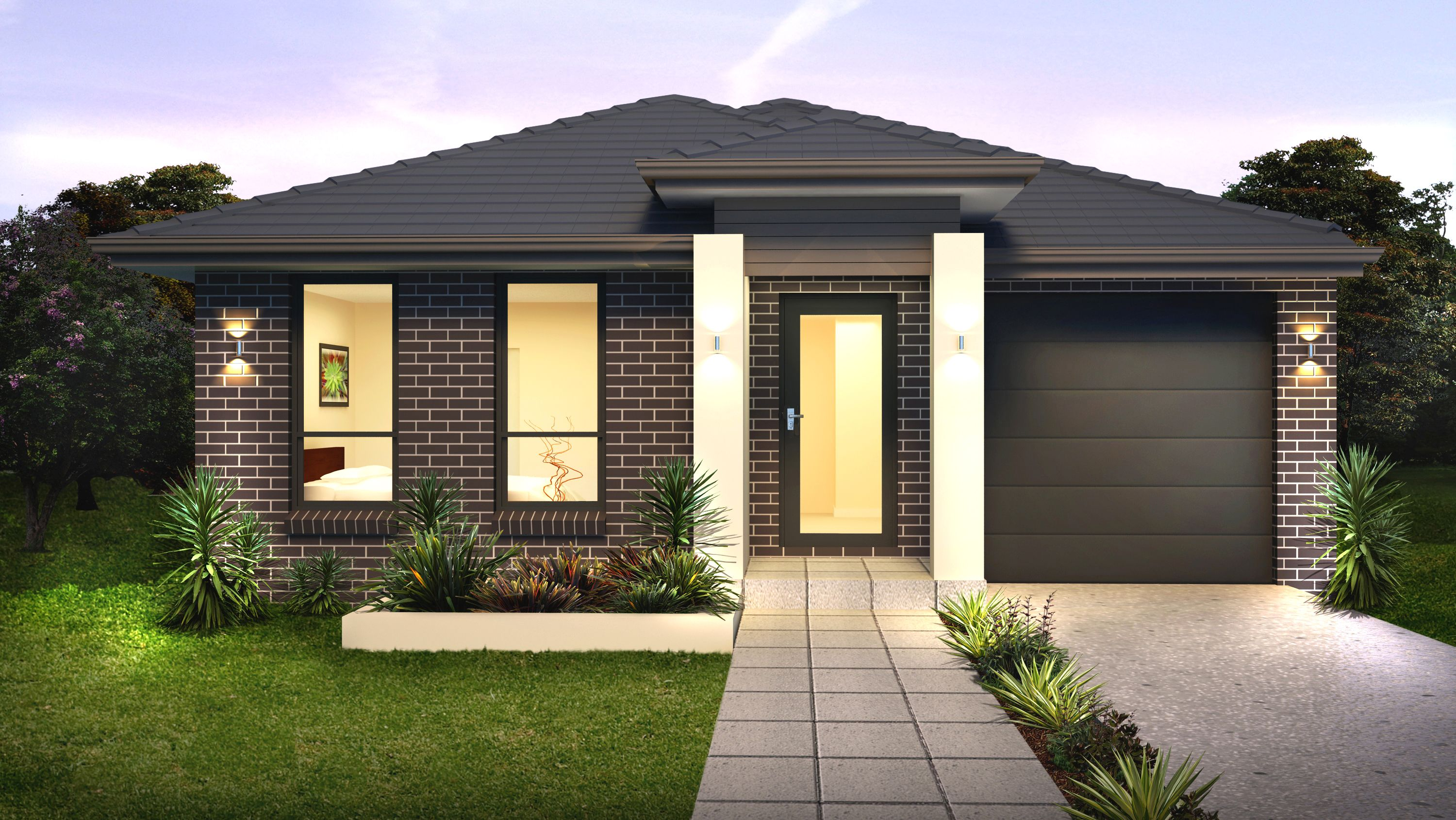 Single storey house design the metro smart practical and modern almost like the perfect man including 3 bedrooms all with robes ensuite and main