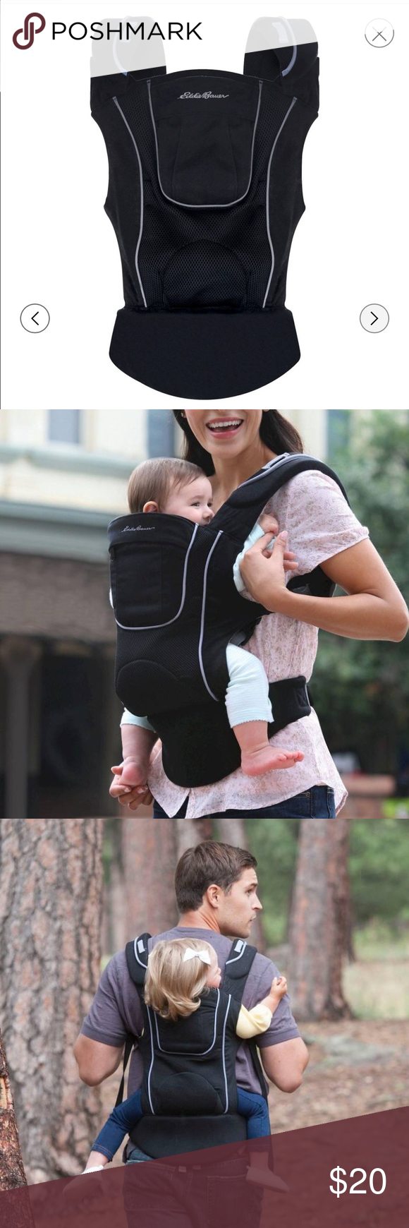 5549667405b Eddie Bauer 3-in-1 Comfort Baby Carrier Excellent condition!! Designed with  you and baby in mind. The Eddie Bauer Front Baby Carrier has a versatile