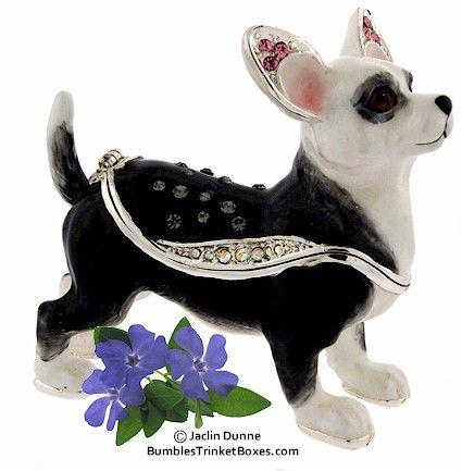 Trinket Box: Chihuahua BoxTrinket Box