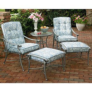 Jaclyn Smith Patio Furniture.Jaclyn Smith Today Palermo Replacement Chair Cushion Used To Be