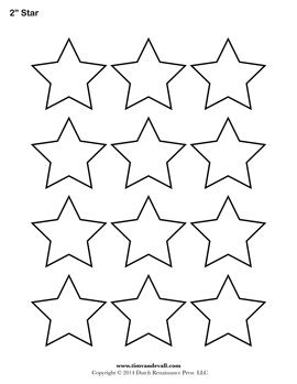 picture relating to Printable Stars Shapes called Star Template Popularity tag templates Star template, Star