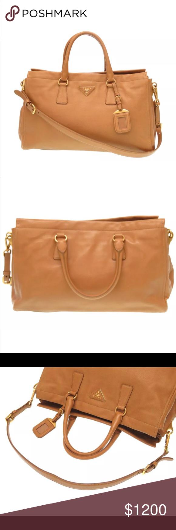 Prada Saffiano soft leather 2way shoulder handbag Brand  PRADA Pattern  Number  BN1848 Country of 7a474c541fa16