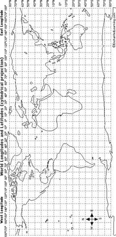 Materials and directions for teaching latitude and longitude with materials and directions for teaching latitude and longitude with battleship game gumiabroncs Image collections