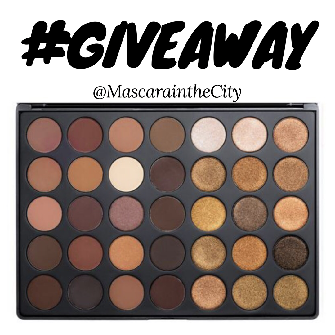 Morphe Giveaway! Ends 4/17/2017 Gold eyeshadow palette