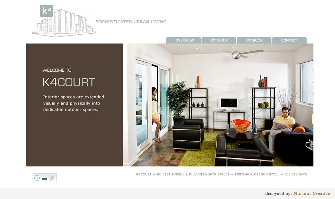 K4 Court Website By Murmur Creative Portland Or Design Stuff Web Design Agency Design Agency Design