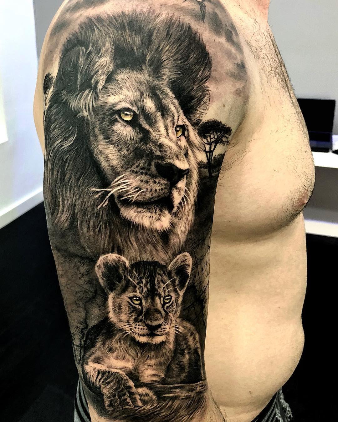 No Hay Ninguna Descripcion De La Foto Disponible Tatuajes De Leon Tatuajes De Animales Diseno De Tatuaje De Leon