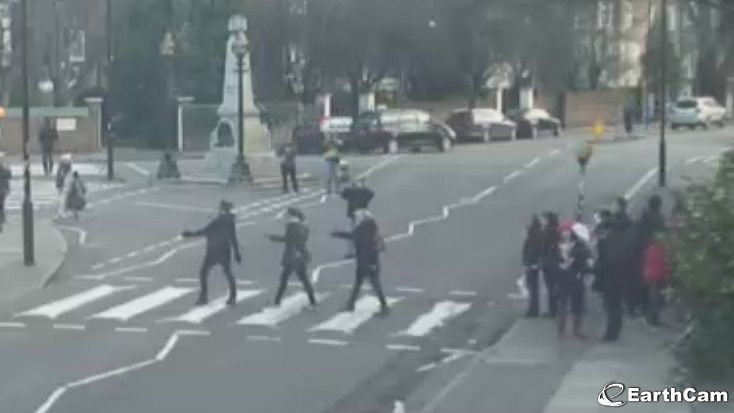 abbey road crossing cam abbeyroad live music pinterest