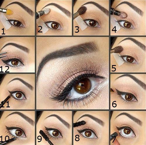 Eye Makeup Tutorial For Brown Eyes You - Mugeek Vidalondon
