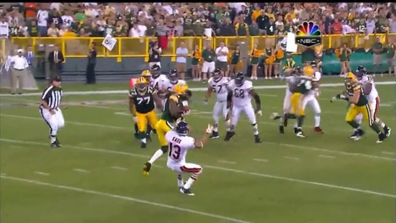 Every Interception Jay Cutler Has Thrown Against Green Bay Green Bay Packers Bears Game Jay Cutler