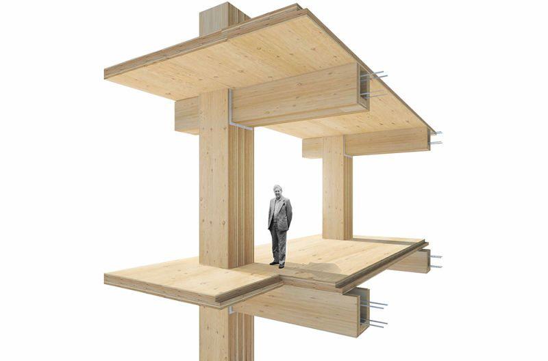 timber column clt floor Google Search CLT Wooden
