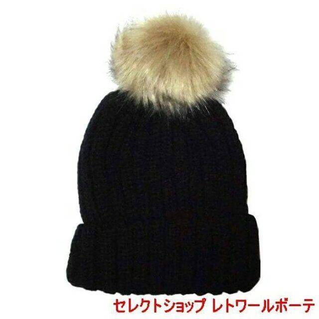 『#ニットキャップ #黒い帽子 ★』