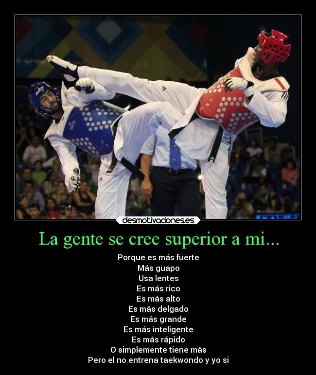 Cierto Frases De Taekwondo Taekwondo Y Artes Marciales