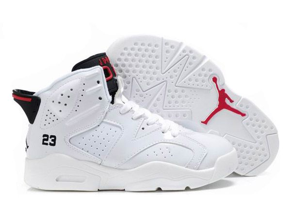air jordan 6 blanc et rouge