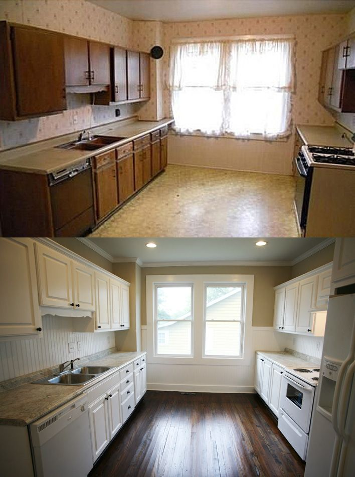 dark and outdated to bright and fresh home remodeling home remodeling mobile homes on kitchen renovation id=73680