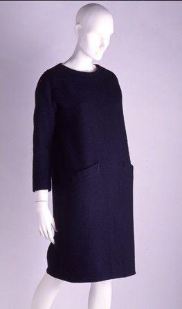 Robe Sac en laine, 1959-60, Victoria & Albert Museum of Arts, Londres