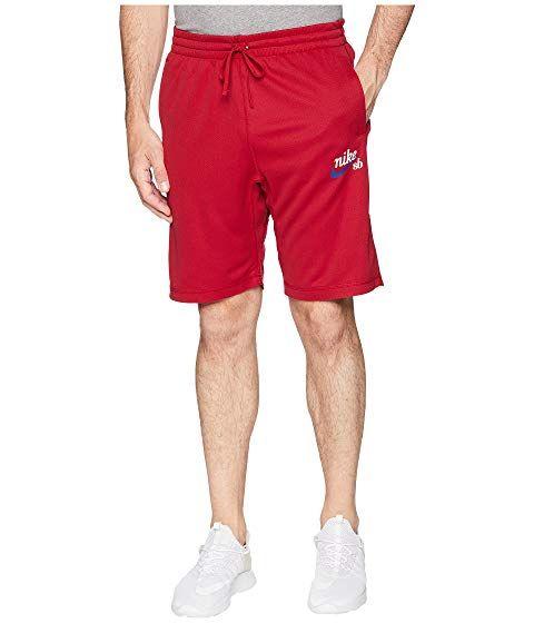 563154d2fb NIKE SB Dry Sunday Crafty Shorts, RED CRUSH/WHITE. #nike #cloth ...