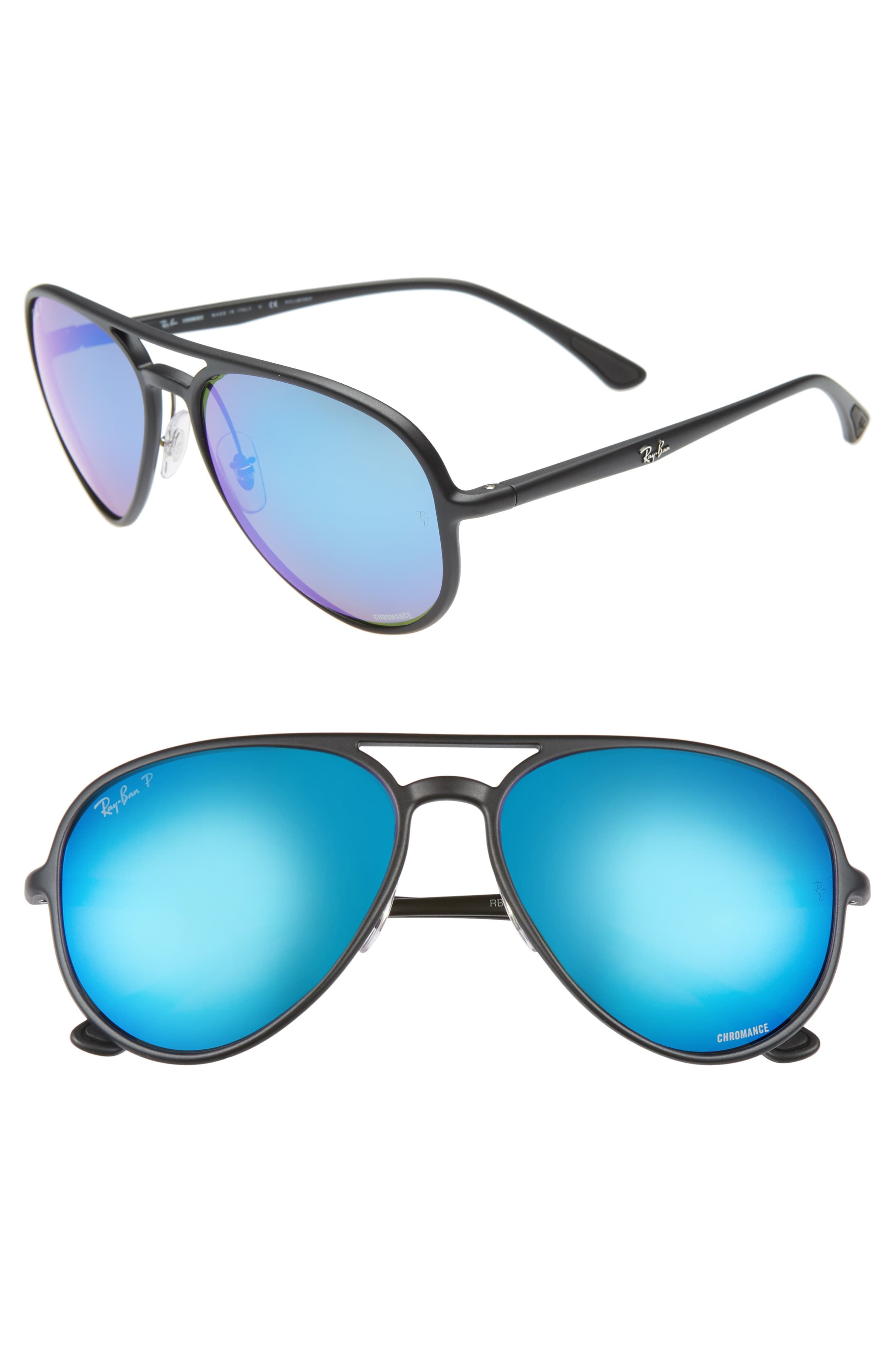 Men's Ray Ban 58Mm Navigator Sunglasses