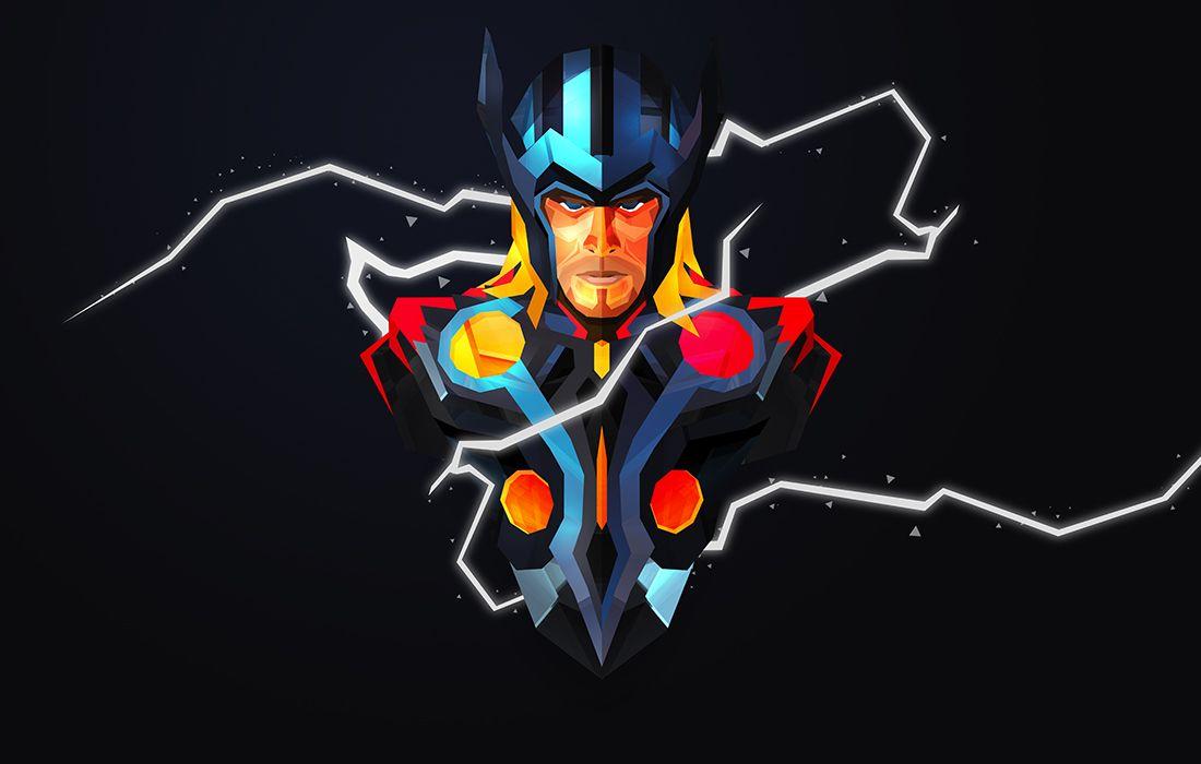 Justin M Maller Art Director Amp Illustrator Online Portfolio Superhero Wallpaper Thor Wallpaper Marvel Wallpaper