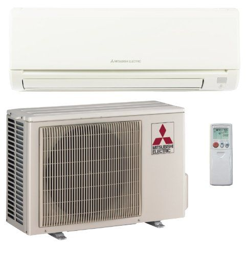 15 000 Btu H 21 Seer Mitsubishi Single Zone Mini Split Air Conditioning System Muyge15na Mitsubishi Air Conditioner Heat Pump System Air Conditioner Prices