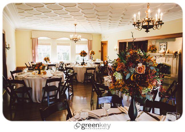 cheney mansion fall wedding chicago wedding pinterest