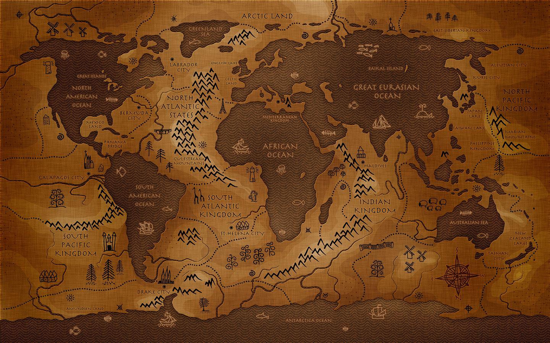 Mapas antiguos para imprimir o curiosear 60  Mapas Mapa del y