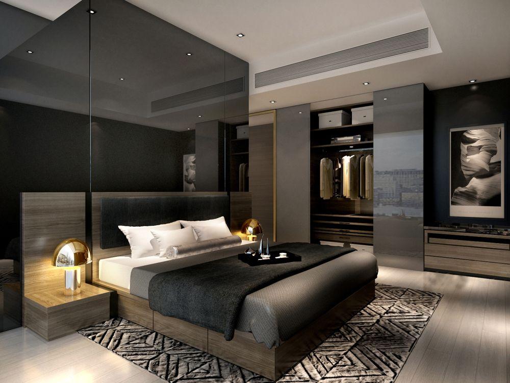 Best Service Apartment Interior Design Mocha Unit08 Master R 640 x 480