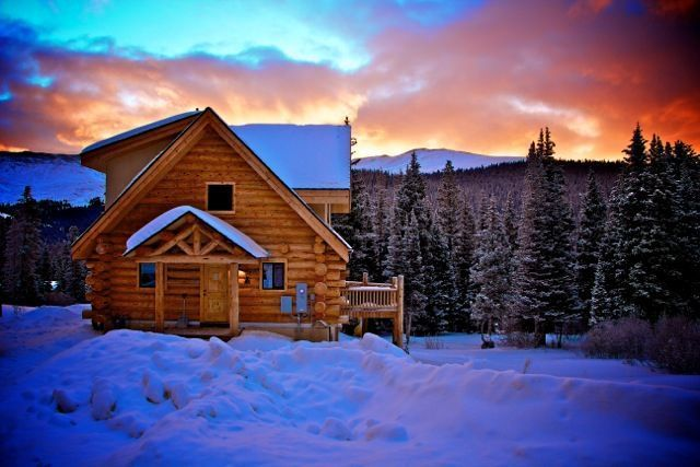Quandary Village Cabin Rental: Beautiful Log Home Away From Home In Summit  County Near Breckenridge