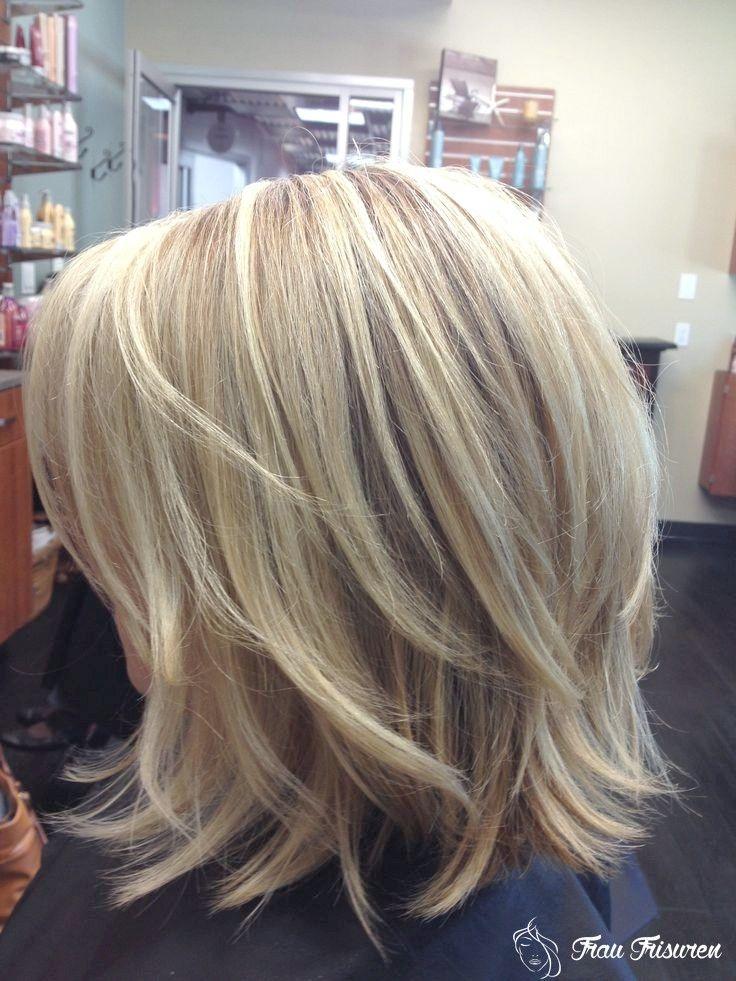 14 Trendy Frisuren Mit Mittleren Schichten Mittellange Haare Frisuren Einfach Haarschnitt Kinnlange Haare Frisuren