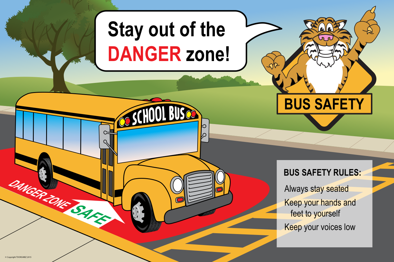 School Bus Safety Poster