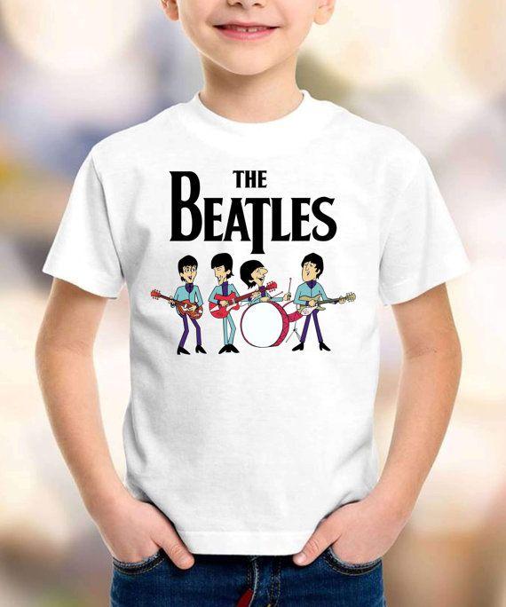 cb824ef4e The Beatles Cartoon t-shirt The Beatles shirt by tshirtbg1 Camisetas