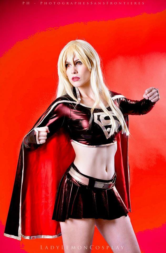 Evil Super Girl by Ladylemon Evil Super