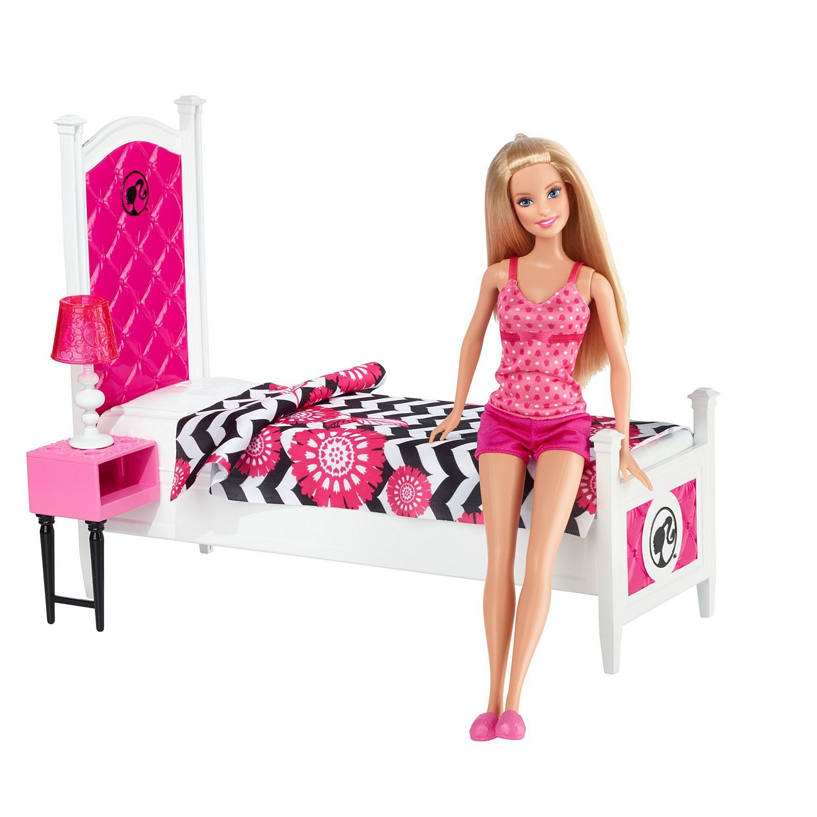 Barbie Barbie Doll and Deluxe Bedroom