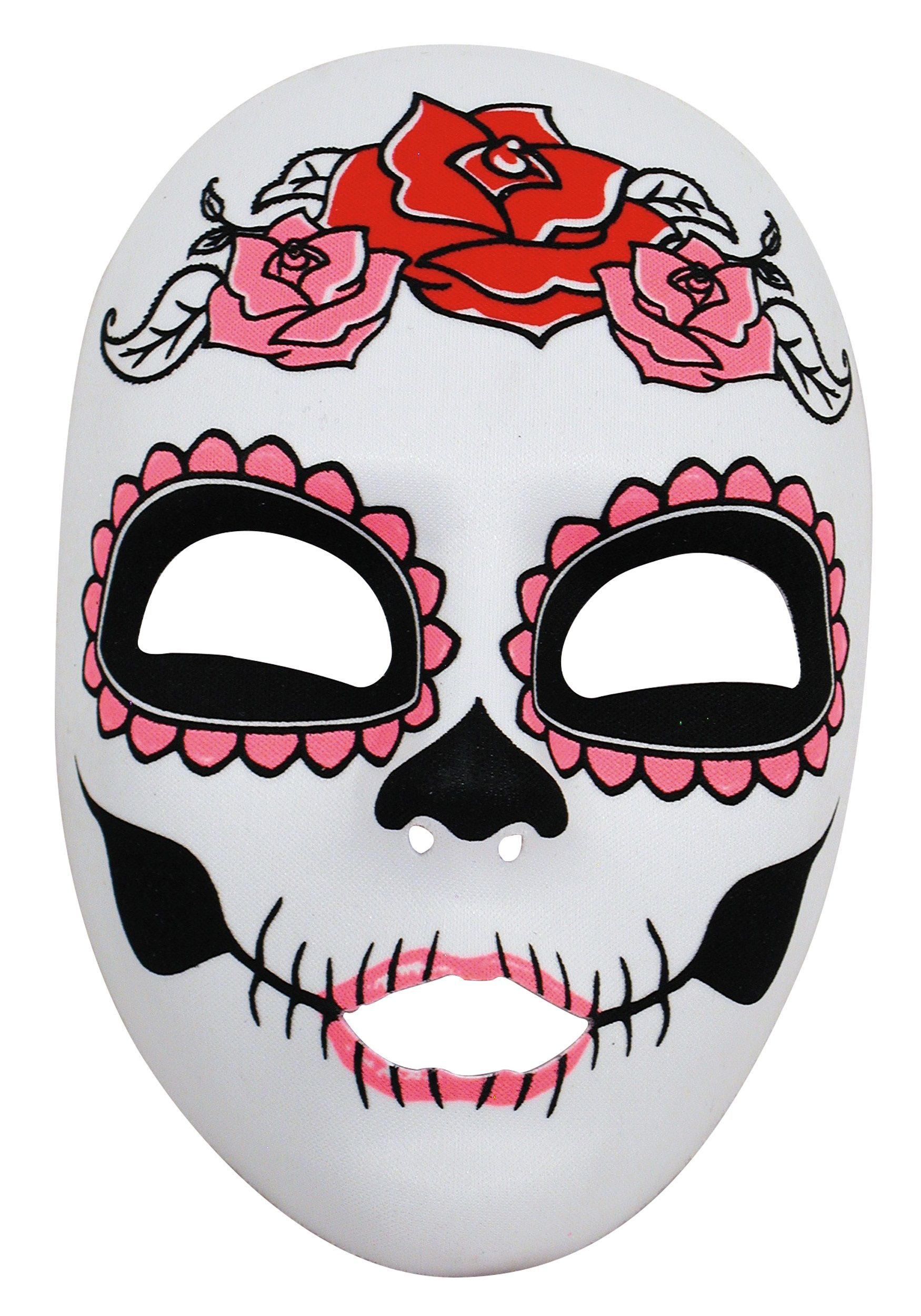 womens-day-of-the-dead-full-face-mask.jpg (1750×2500) | Tats ...