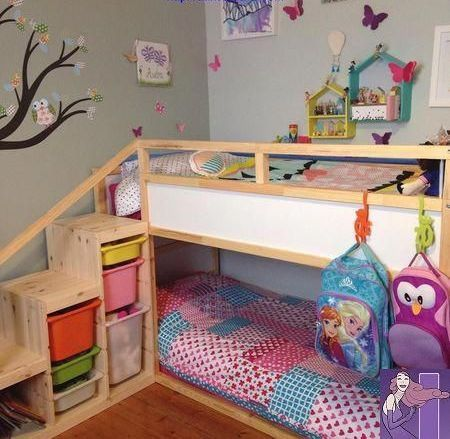 THESE BUNK BEDS WILL HAVE YOU WANTING TO TRADE ROOMS WITH THE KIDS! - Page 43 of 59 images
