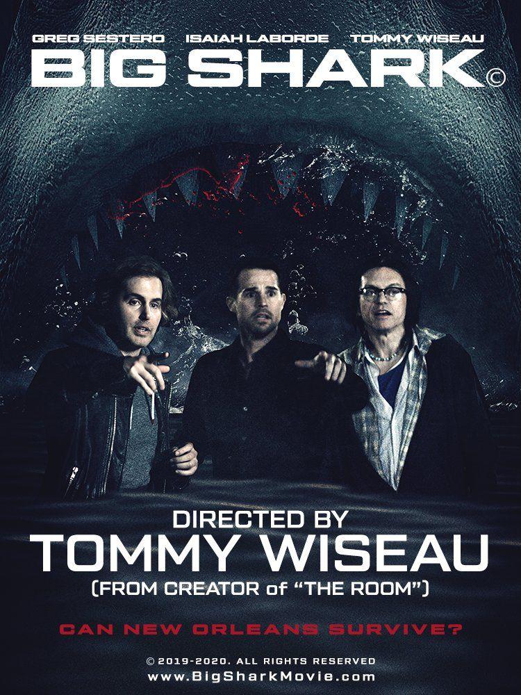 Big Shark Tommy Wiseau releases 'preposterous' trailer