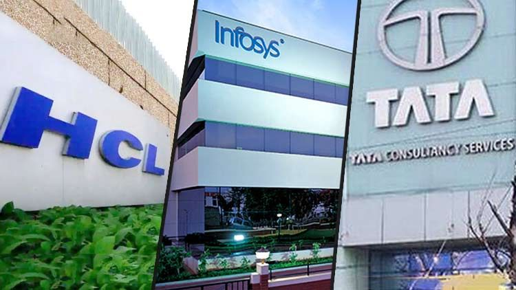 Infosys Tcs Hcl Miss The Biggest Markets Rally In 10 Years